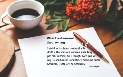 What I've discovered… about writing